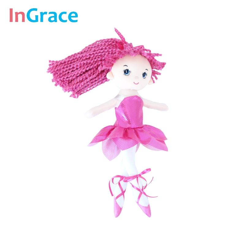 InGrace yeni gəlişi parıldayan balerina kuklaları 3 rəngli super - Kuklalar və kuklalar üçün aksesuarlar - Fotoqrafiya 3