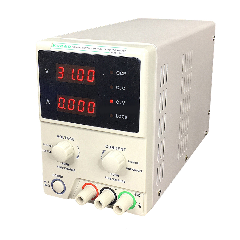 30V5A 220V KD3005D Adjustable High Accuracy Programmable DC Power Supply Digital Laboratory Grade Power Supply Phone