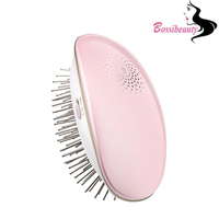 New Style Small Size Not Heating Electric Hair Brush Comb Portable Hair Massage Style Brush Negative
