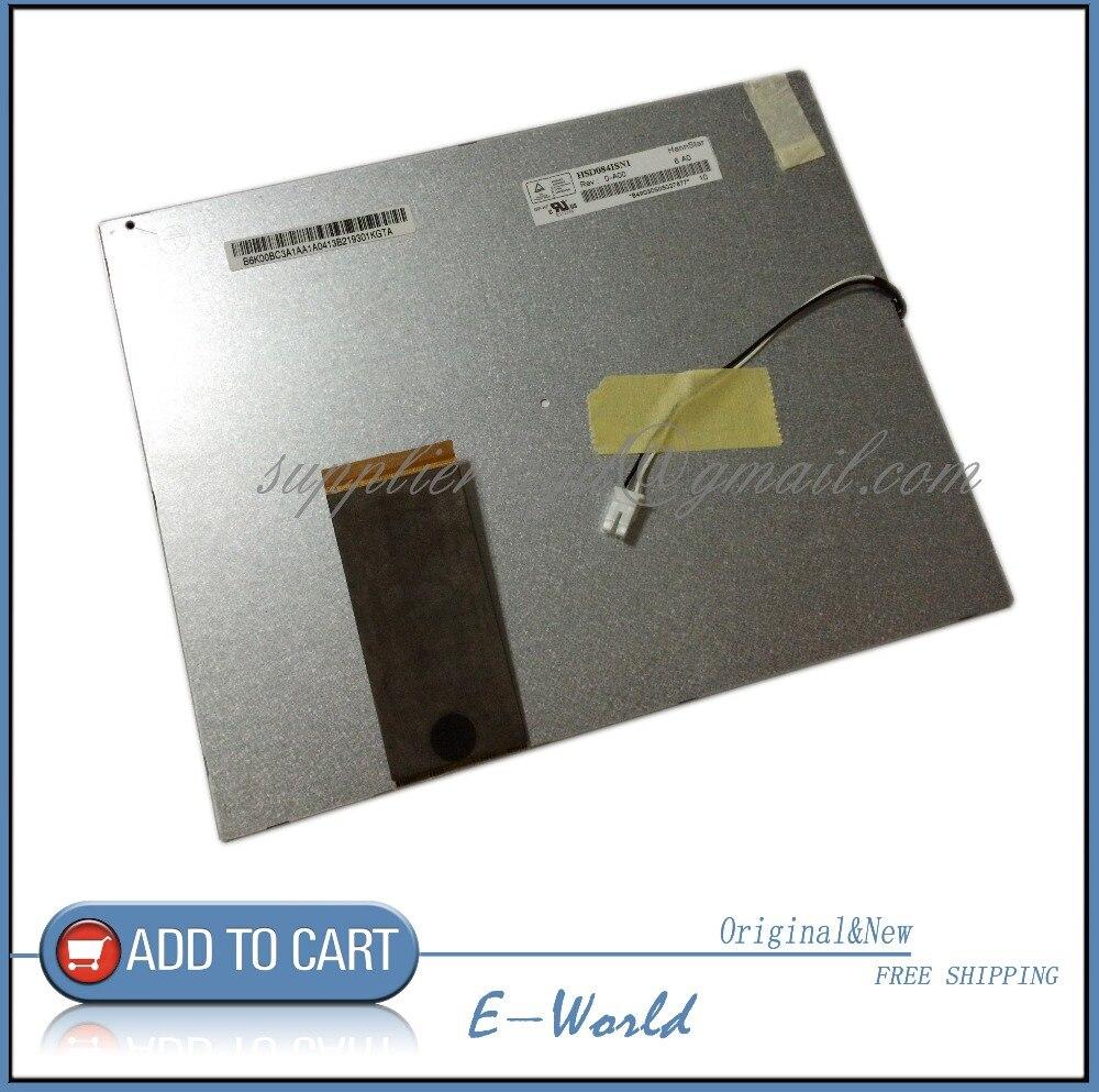 Original 8.4inch LCD screen HSD084ISN1-A00 HSD084ISN1 for Car DVD free shipping