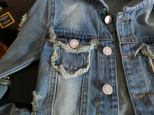 Image 5 - New 2017,Girl Jackets,Girls Denim Outercoat,Children Outerwear,Spring and Autumn Clothes,Kids Jeans Clothes,For 1 12T