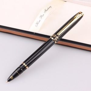 Image 5 - Оригинальные ручки Hero 1079 ультратонкая ручка 0,38 мм Студенческая слово офисная бизнес Подарочная коробка черный розовый синий элегантные дамы Бесплатная доставка