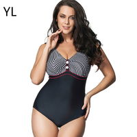 Hot Sale Plus Size Swimwear Swimming Suit For Women Zebra Striped Printed One Piece Swimsuit Sexy