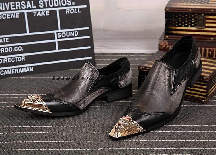 2016 New arrival top quality men's slip on basic oxfords real cowhide leather formal wedding dress shoes men sapato masculino 46 2016 new arrival top quality men s slip on basic oxfords real cowhide leather formal wedding dress shoes men sapato masculino 46