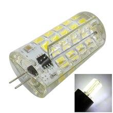 Silicone LED Lamp Bulb AC 110V 100-120V 4W Chandelier Corn Light Base G4