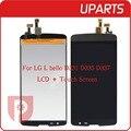 1 pçs/lote brand new a + melhor qualidade 5.0 polegada para lg l bello D331 D335 D337 LCD Screen Display + Digitador do Toque De Vidro, Rastreamento não
