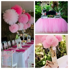Buy crystal wedding themes and get free shipping on aliexpress 2200 x 15cm pink theme wedding table runner decoration yarn roll crystal tulle organza sheer gauze junglespirit Image collections
