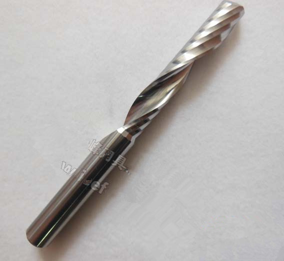 GI-8*42*75 A series Single Flute CNC Milling Tools, Engraving Cutters Wood Carving Bits, Drill Blade for Cutting MDF, Acrylic 1pc 1 8 helical milling cutter cutting 3 flute router bits for acrylic wood plastic milling cutting tools