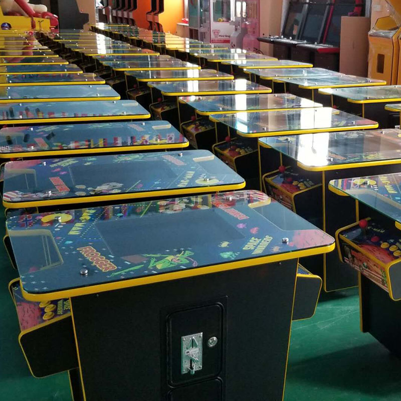 us $940.0 |arcade cocktail table game machine cabinet kit jamma 60 in 1  classical games 2 sides to 2 players (19 inch lcd monitor)-in coin operated
