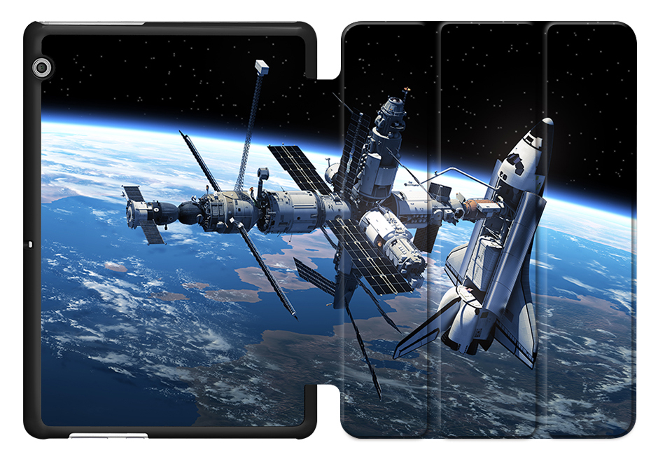 Astronaut Space PU Leather Cover Protective Shell For Huawei T3 10 AGS-L09 AGS-L03 9.6 Inch Tablet Case Honor Play Pad 2