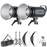 Neewer 800W Photo Studio Strobe Flash and Softbox Lighting Kit:400W Monolight Flash(S 400N),Reflector Bowens Mount Light Stand