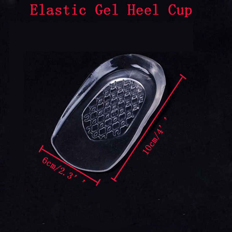 1 Pair Silicone Gel Insoles Massaging Cushion Forefoot Shoe Pad High Heel Women Elastic Palm Protect Shoe Inserts