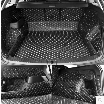 High quality! Special trunk mats for Skoda KODIAQ 5 seats 2018 waterproof boot carpets cargo liner for Kodiaq 2017,Free shipping