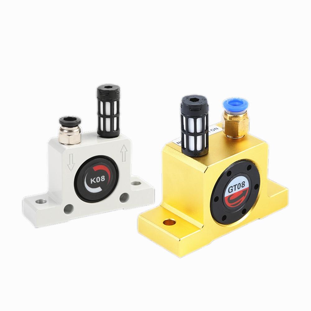 Vibromasseur pneumatique industriel oscillateur boule type k-series K8, K10, K13, K16, K20, K25, K30, K32, K36 GT8 GT10 GT13 GT16 GT20 GT25 GT30