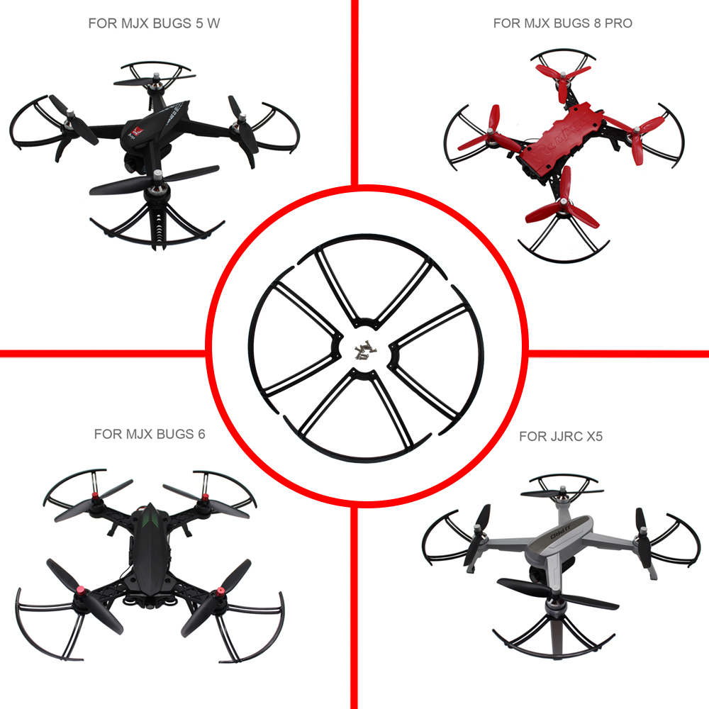Propeller Protector Guards For MJX bugs 6 b6 Bugs 8 pro B8pro Bugs 5 w B5W JJRC X5  rc quadcopter drone spare parts accessoriesPropeller Protector Guards For MJX bugs 6 b6 Bugs 8 pro B8pro Bugs 5 w B5W JJRC X5  rc quadcopter drone spare parts accessories