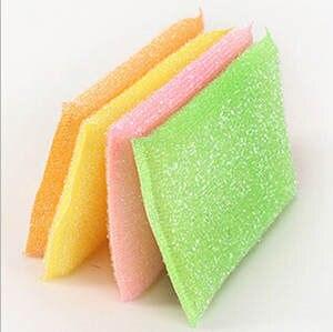 YAS 4Pcs Kitchen Dish Towels Super Absorbent Cotton