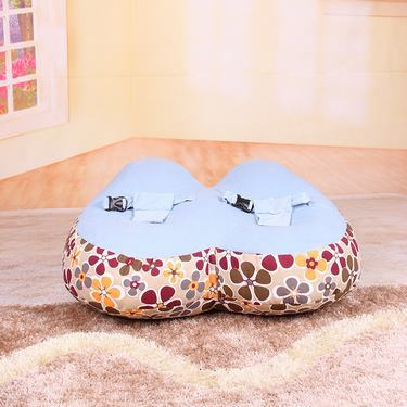 Free Shipping ClearanceTwin Twinborn Kids Bean Bag Newborn Sofa Chair Baby Lounger Cover Without Filling Flower Can Be Choose In Seats From