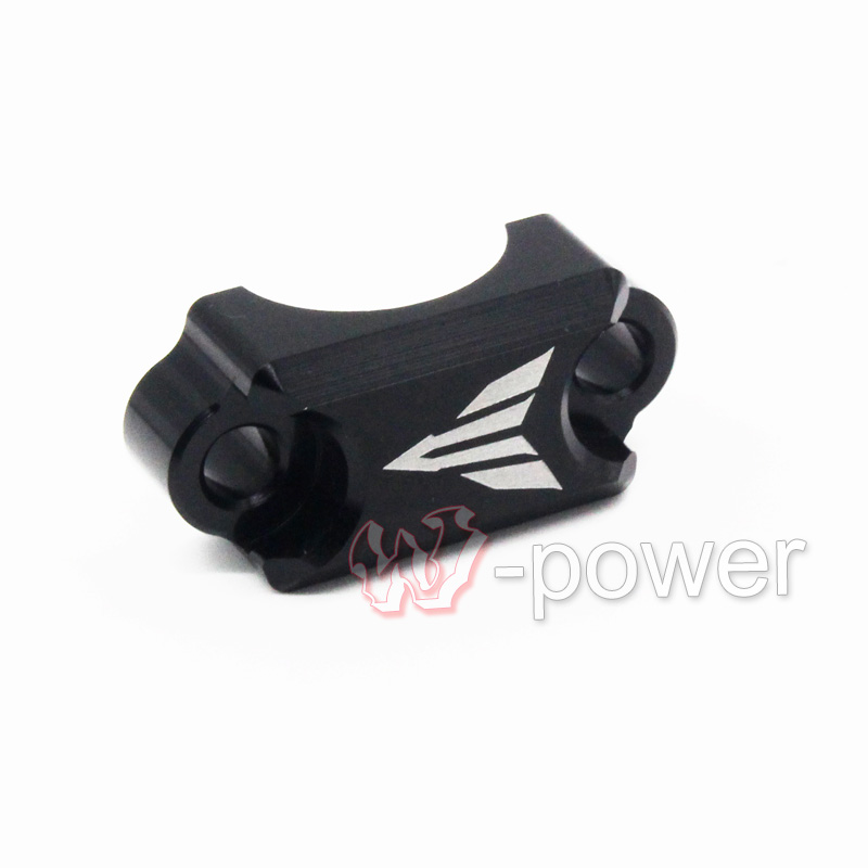 For YAMAHA FZ6 FZ1 FZ8 XJ6 XJR1300 Motorcycle CNC Aluminum Brake Master Cylinder Clamp Handlebar Clamp Cover Black for yamaha fz6 fz1 fz8 xj6 xjr1300 motorcycle cnc aluminum brake master cylinder clamp handlebar clamp cover red