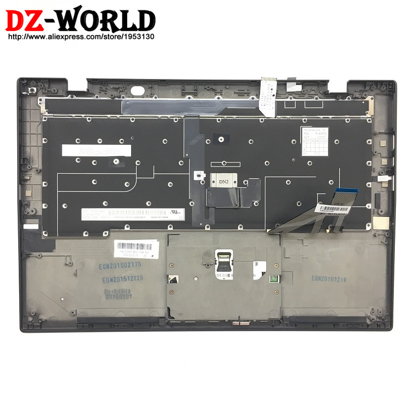 CH New/Orig for Thinkpad X1 Carbon 3rd Gen 3 20BS 20BT Swiss Backlit Keyboard with Palmrest Touchpad 00HT327 00HN972 SM20G18632