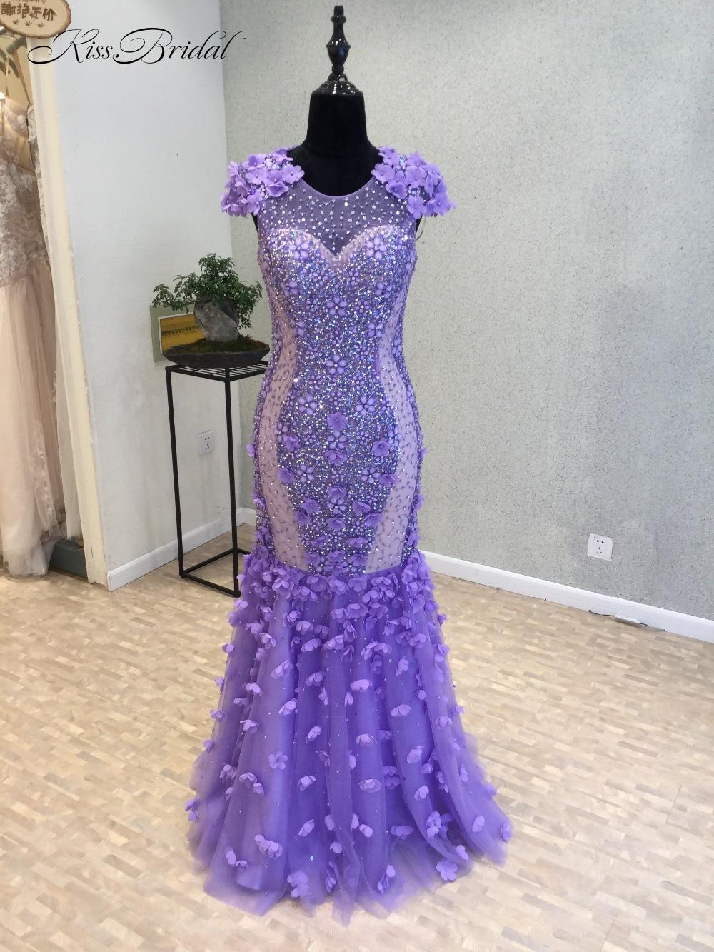 New Bling Bling Long   Prom     Dresses   2018 O-Neck Cap Sleeve Floor Length Beading Chiffon Mermaid Long Evening   Dress   vestido longo