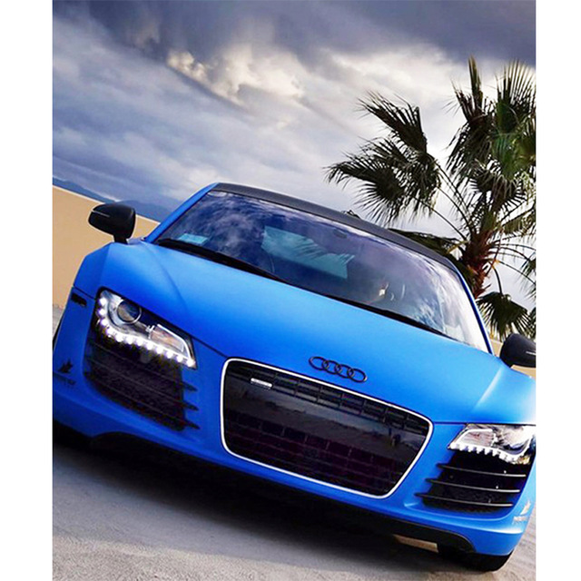 DIY 5D Diamond Mosaic Blue Audi Car picture Handmade  Painting Cross Stitch Kits Embroidery Pattern FULL