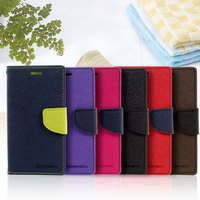 MERCURY GOOSPERY Shell For Xiaomi Redmi 3s Phone Cases Contrast Color PU Leather Mobile Cover For