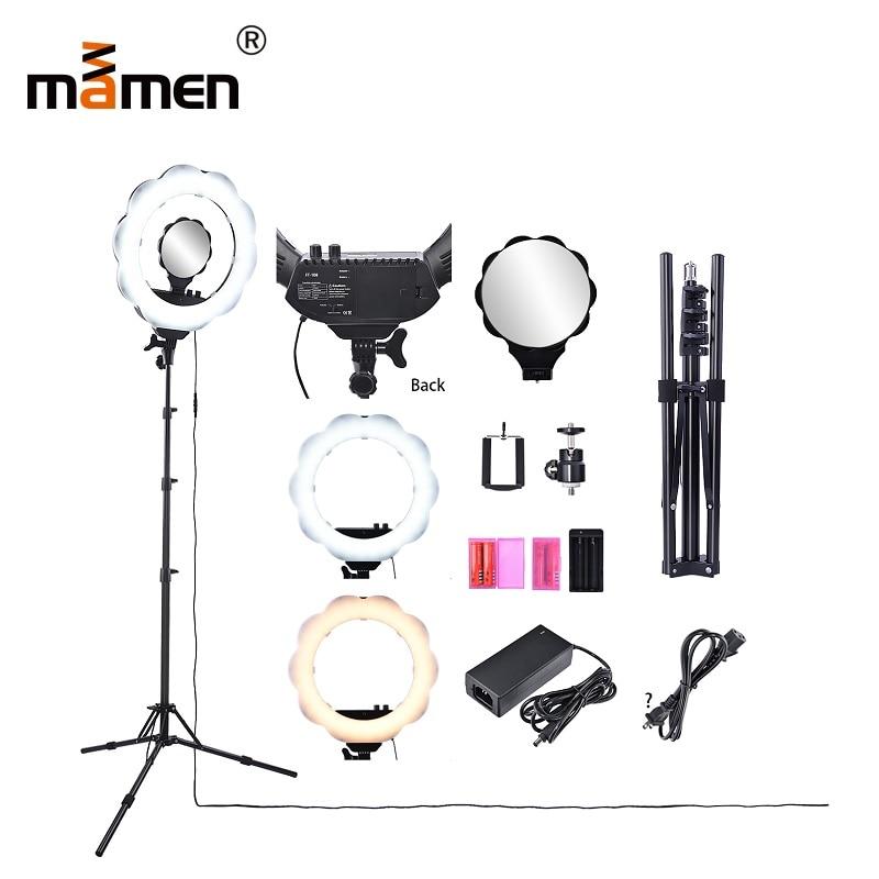 Mamen Fotografía de iluminación de la cámara Video Photo Luz de - Cámara y foto