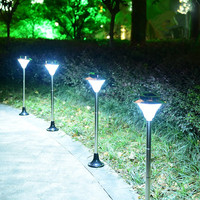 Modern Waterproof LED solar light garden lights lawn lamps Solar Decoration Power Panel wireless wall lights outdoor lighting