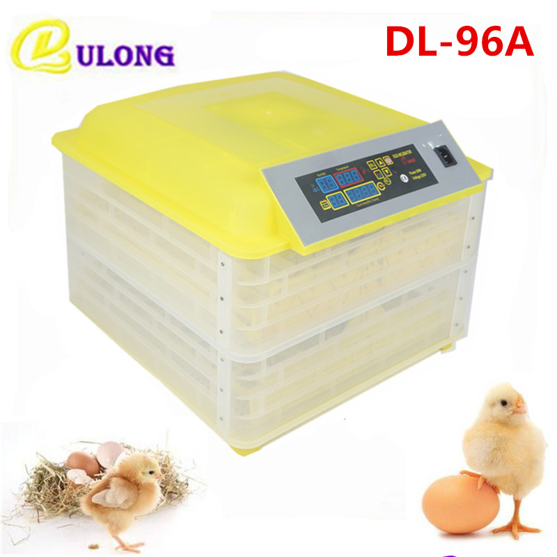 Household 96 Eggs Incubator Industrial Digital Temperature Control Poultry Hatching Auto Hatchers Cheap Price