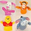 Bebé juguetes para los niños lindos Animal de dibujos animados marioneta historia Tell apoyos juguetes brinquedos jouet enfant