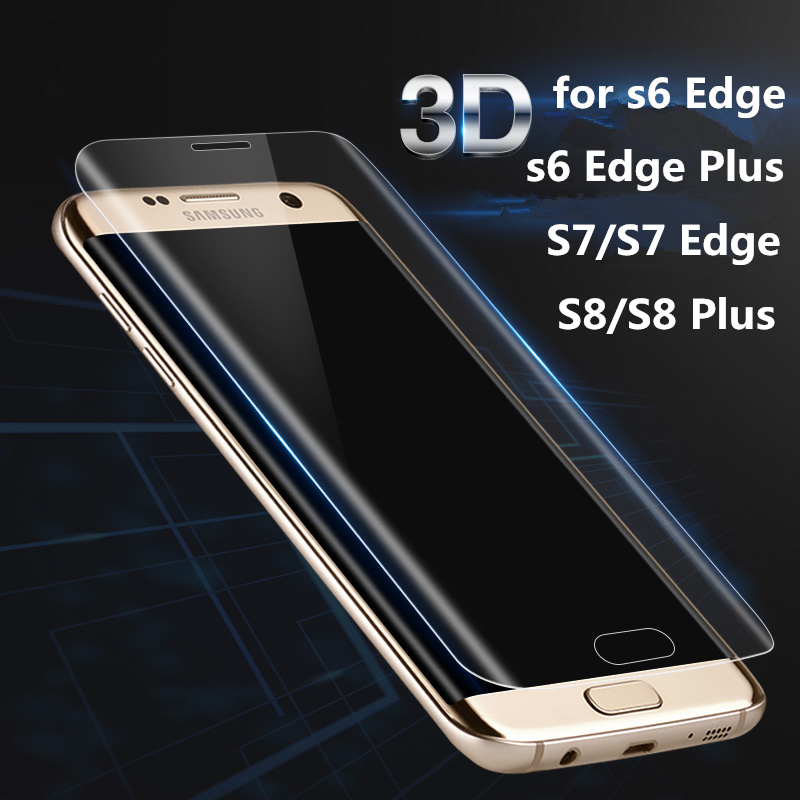 buy for samsung galaxy s7 edge s6 edge s8 plus screen protector toughed pet. Black Bedroom Furniture Sets. Home Design Ideas