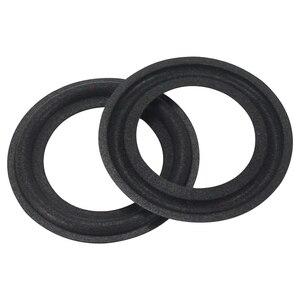 Image 3 - GHXAMP 2 pièces 2.5 pouce haut parleur mousse réparation accessoires haut parleur surround côté éponge bord latéral anneau cercle suspension