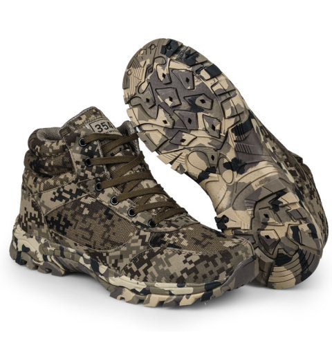 Winter Army Boots Men's Special Combat War Boots Outdoor Tactical Boots High help camouflage for training shoes Wool cold boots