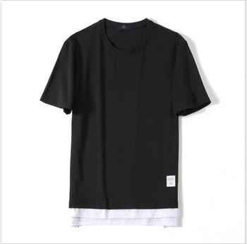 Brand Fashion Men Short Sleeve Fitness T-Shirt Body building Clothing Slim Fit Shirt Men Gyms Tight
