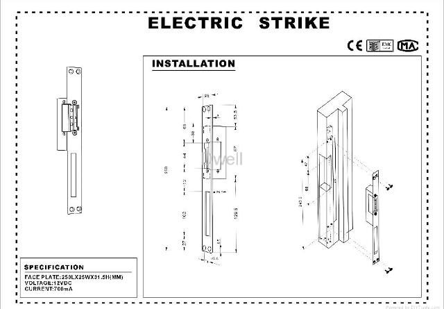 Electric Strike Lock Wiring Diagram Simple Diagrams