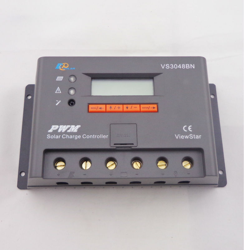VS3048BN 30A 24/48V auto PWM Controller Network Access Computer Control can connect with MT50 for communication  vs3024bn new pwm controller network access computer control can connect with mt50 for communication