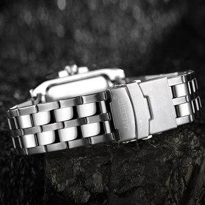 Image 5 - Mens שעונים למעלה מותג יוקרה Megir הכרונוגרף & תאריך אוטומטי עמיד למים נירוסטה רצועת חיצוני ספורט שעון יד שעון