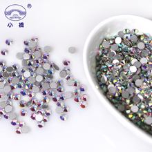 Crystal Rhinestones Decoration Accessories 3d Color Flatback Rhinestones For Nails Non Hotfix Ab Round Glass Rhinestones R001 holuns r001