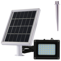 Solar LED Light 500 Lumens IP65 Waterproofness Rating Perfect Solar Spotlight For Patio, Gazebo, Or Backyard
