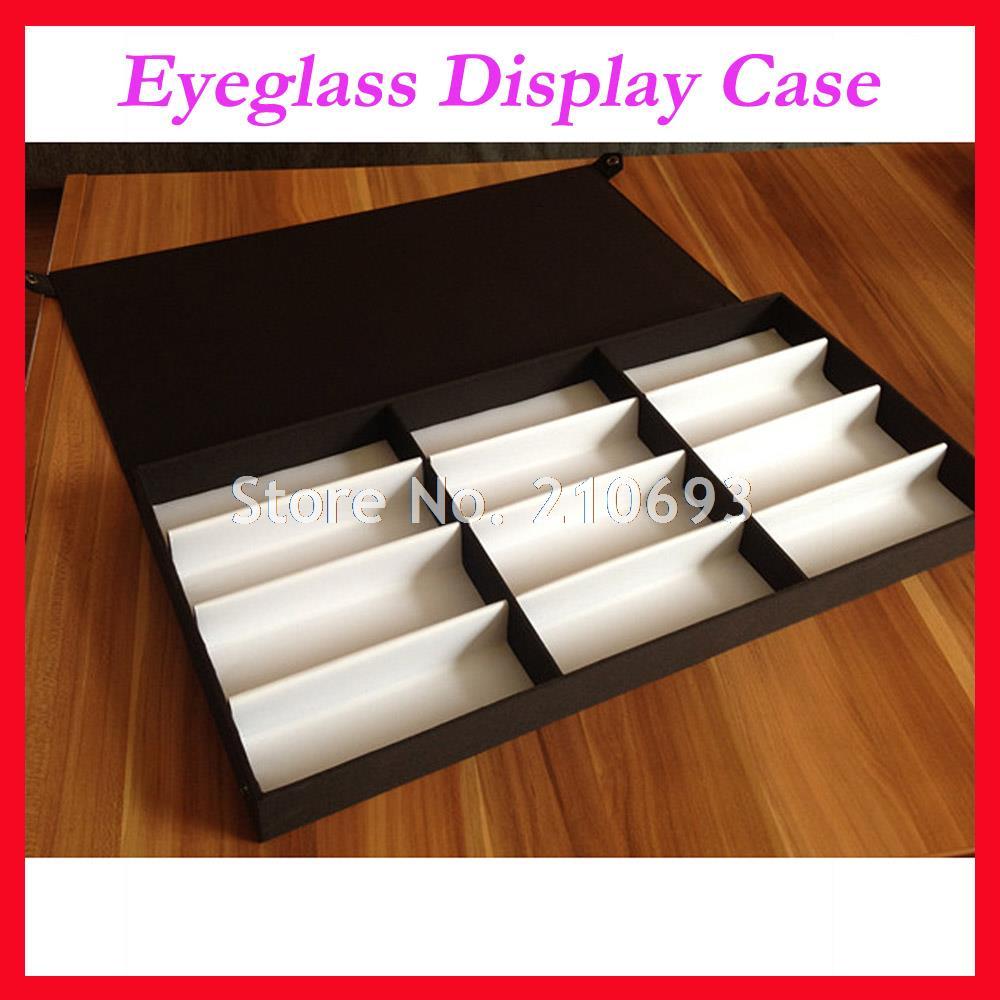 Розничная продажа 12 S витрина для солнцезащитных очков коробка образец лоток 12 шт