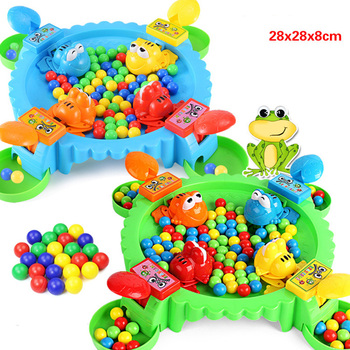Funny Toys Hungry Frog Eating Beans Games Family Party Parent-child Interactive Game Toy For Children Adult Stress Relief Toy frog eating beans 2018 funny board games toys for children interactive desk table game family game educational toys kid gifts