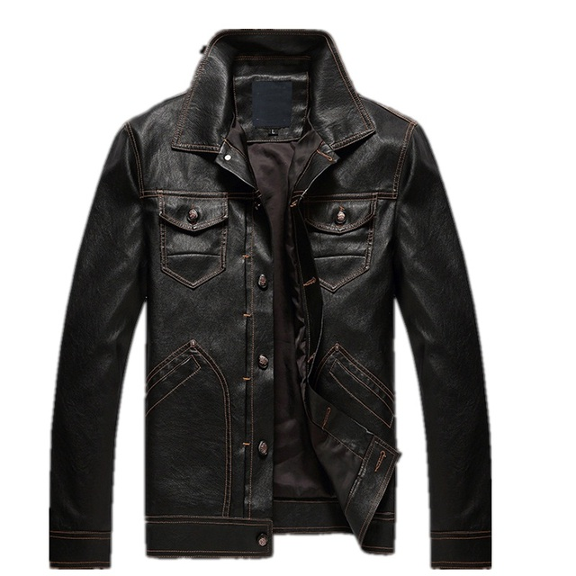 Aliexpress.com : Buy KENNTRICE Motorcycle Jackets Men Faux Leather ...