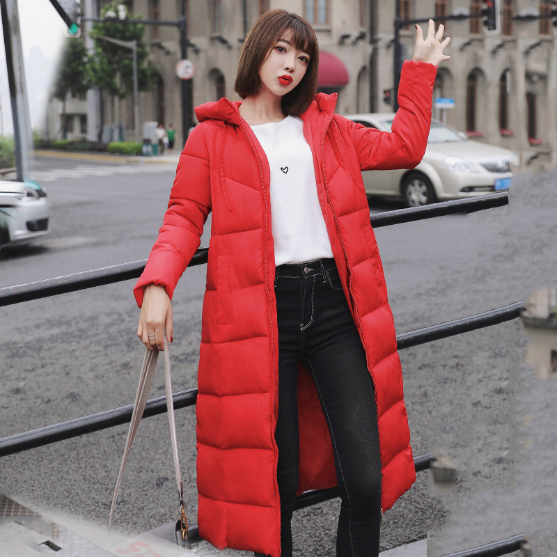 Plus Size 4XL 5XL 6XL womens Winter Jackets Hooded Stand Collar Cotton Padded Female Coat Winter Women Long Parka Warm Thicken 22