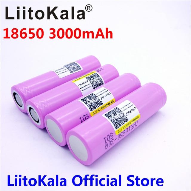 Aliexpress.com : Buy LiitoKala 100% original New for Samsung INR 18650 battery 3.7V 3000mAh