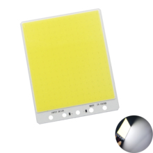 hot 140mm 110mm Cold white LED COB Bulb 224 leds big square panel FLIP Chip DC 12V 100W Strip For outdoor Fishing Rod lamp