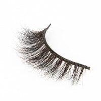 d8136e69ccc Custom packaging 1 pair full strip eyelashes 3D mink false eyelashes L001