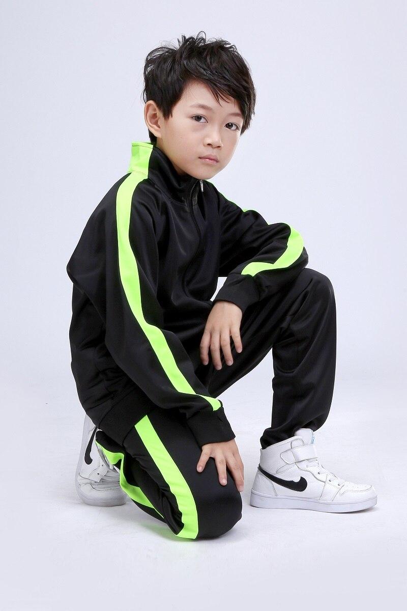 New Kids Running Sets Uniforms kits Football Jerseys Sets Boys Compression Runing Pants Shirts Training Skinny Jogging Clothes