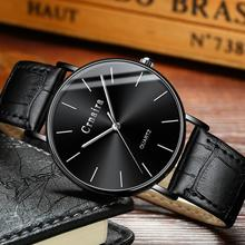 Men Watch 2019 Brand Stainless Steel Slim Waterproof Clock Fashion Analog Week Calendar Quartz Business Male Wristwatches