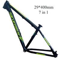 29 дюймов 40 см SILVERBACK 6061 алюминиевый сплав рама для горного велосипеда
