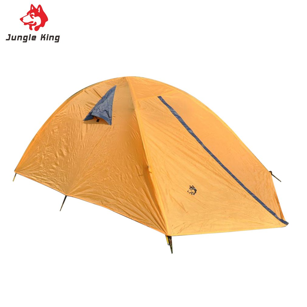 Hasky 001 Glass Fiber Fiberglass Rod Camping Tent For Outdoor Travel Hiking Picnic Beach Tent Rainproof Windproof Waterproof New high quality outdoor 2 person camping tent double layer aluminum rod ultralight tent with snow skirt oneroad windsnow 2 plus